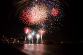 The countdown to the 49th fireworks competition has started